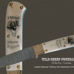 Wild sheep foundation knife